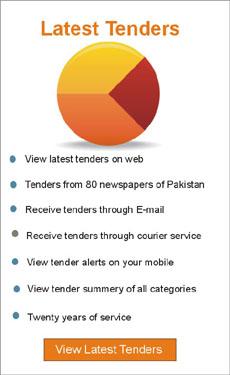 Tender Service Pakistan